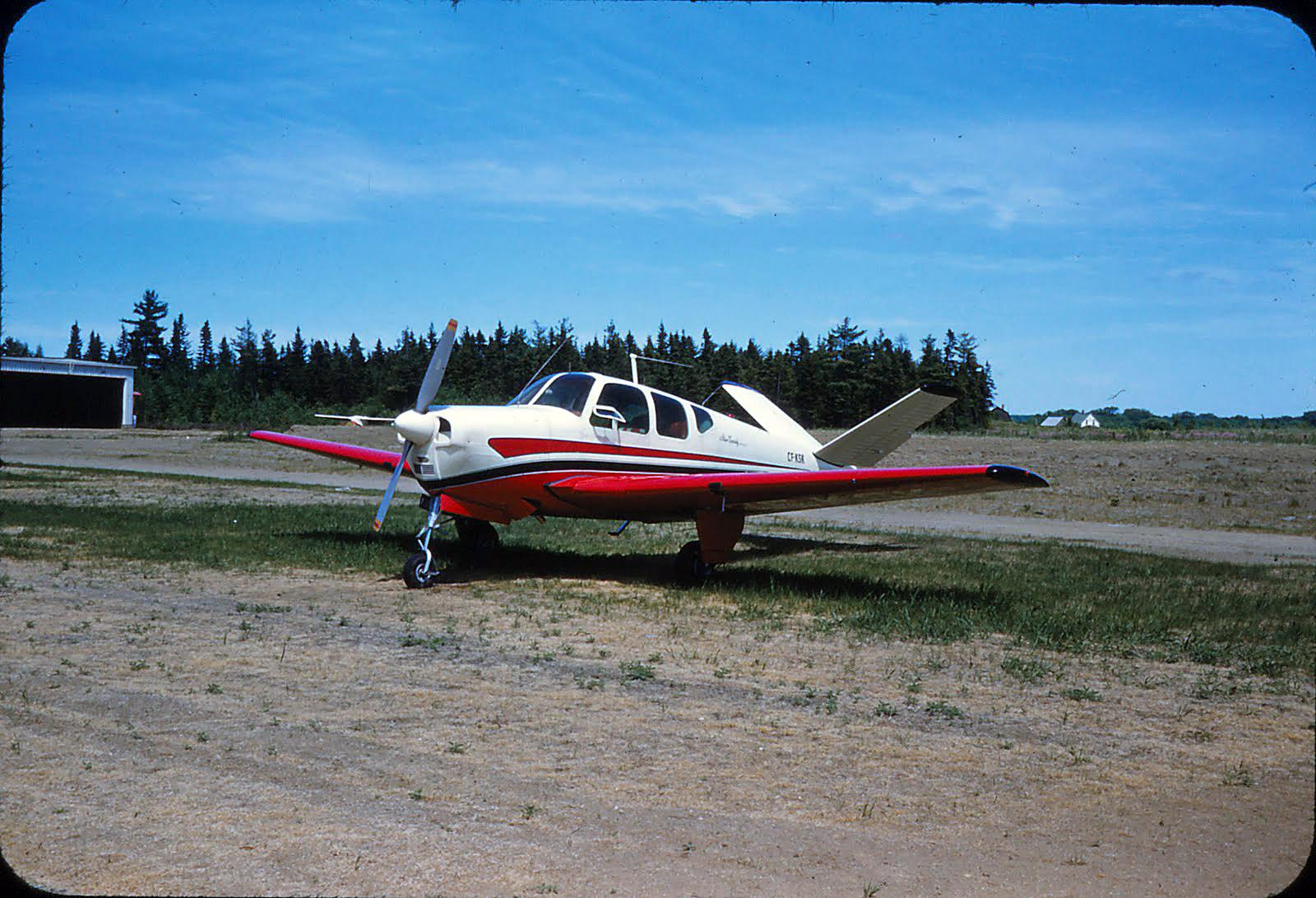 Bonanza CF-KSK JUne 1959