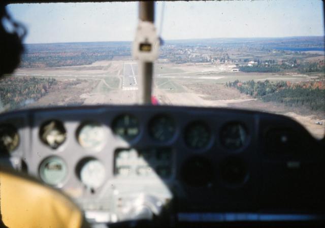 Landing at Fredericton 1955