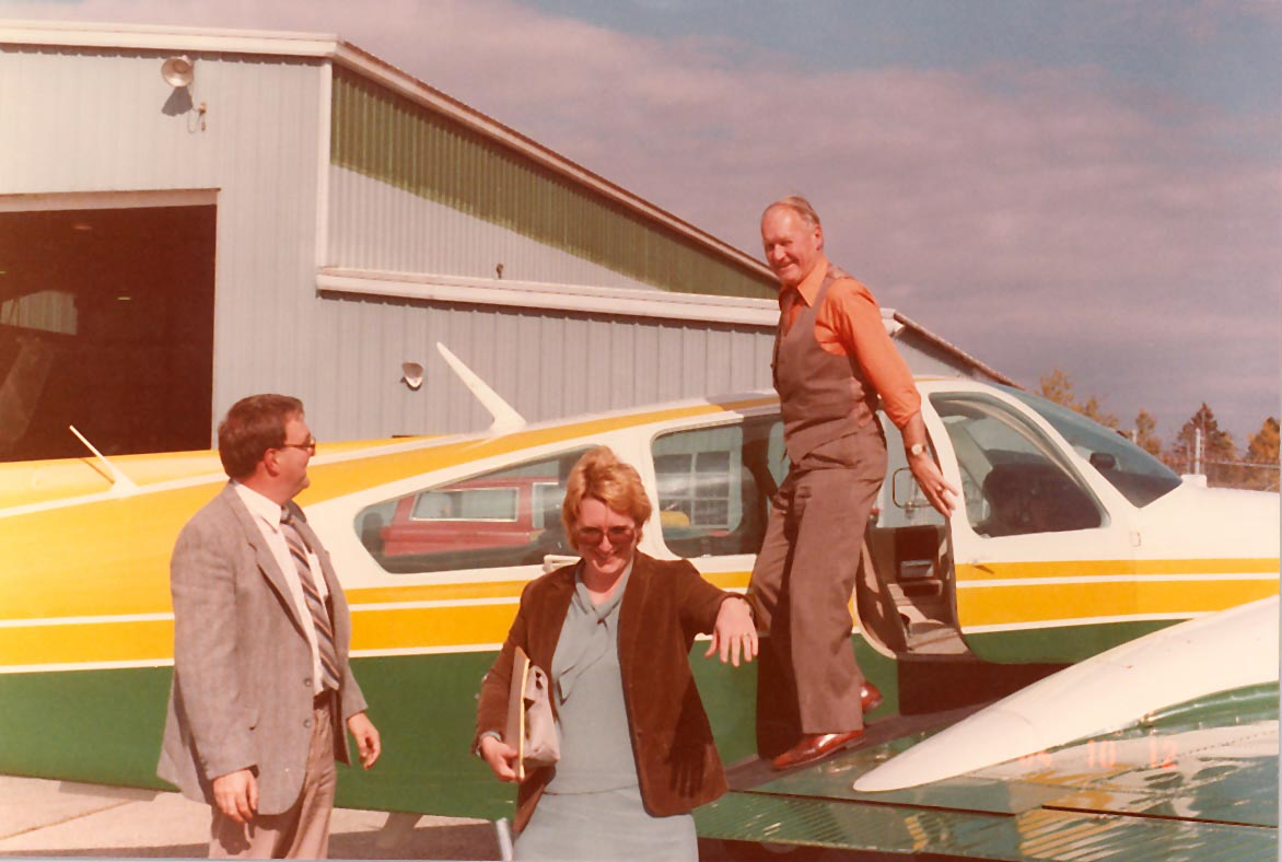 Fredericton airport 1984