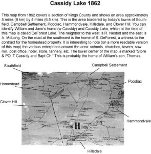 Cassidy Lake 1862