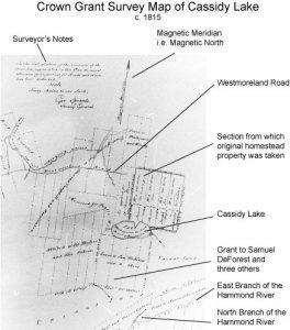Survey Map 1815